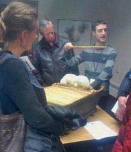 Jeff Steenbergen demonstrates Top Bar Hive