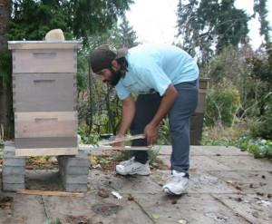 Danny Najera Weighing Hive